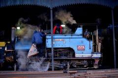 De Spoorweg van Himalayan van Darjeeling royalty-vrije stock foto's