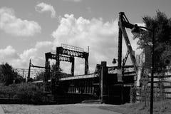 De spoorweg van kanaallachine Royalty-vrije Stock Fotografie