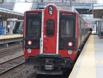 De Spoorweg van Stamford metro-in het noorden Royalty-vrije Stock Foto's