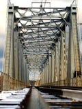 De spoorwegbrug Stock Fotografie