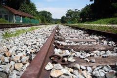 De Spoorwegen Royalty-vrije Stock Fotografie
