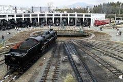 De spoorwegmuseum van Kyoto Royalty-vrije Stock Foto's