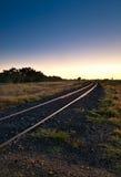 De Spoorwegovergang van het binnenland Royalty-vrije Stock Foto