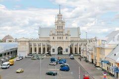 De Spoorwegpost van Brest Westelijk Wit-Rusland Stock Fotografie