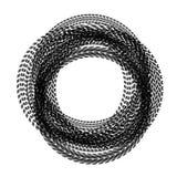 De sporen van de cirkelband vector illustratie