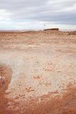 De sporen van de dinosaurus stock afbeelding
