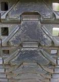 De Sporen van de tank Royalty-vrije Stock Afbeeldingen
