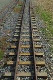 De Sporen van de trein royalty-vrije stock afbeelding