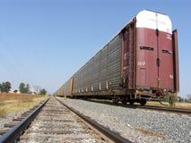 De sporen van de trein Royalty-vrije Stock Afbeeldingen
