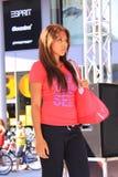 De sport kleedt modeshow Royalty-vrije Stock Foto