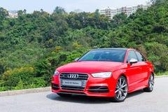 De Sport Seden 2014 van Audi S3 Stock Afbeeldingen