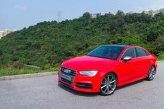 De Sport Seden 2014 van Audi S3 Stock Foto's