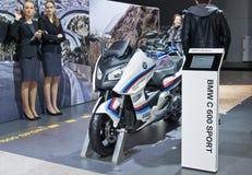 DE SPORT VAN BMW C 600 Stock Foto's