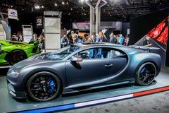 De Sport van Bugatti Chiron royalty-vrije stock foto's