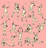 De Sport van de de Balactie van het vrouwensalvo Stock Afbeelding