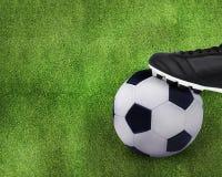 De sport van de voetbal Royalty-vrije Stock Fotografie