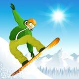 De sport van de winter Stock Afbeeldingen