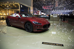De Sport van Gran Cabrio van Maserati Royalty-vrije Stock Foto's