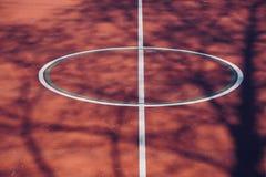 De sport van het voetbalvoetbal in de straat royalty-vrije stock fotografie