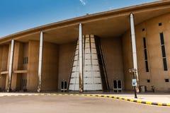 De sporten centreren in de Koning Abdullah University van Wetenschap en Technologiecampus, Thuwal, Saudi-Arabië royalty-vrije stock afbeeldingen
