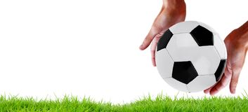 De sporten van het voetbalteam kampioenschap royalty-vrije stock foto's