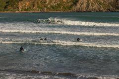 De sporten van het de winterwater stock afbeelding
