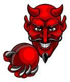 De Sportenmascotte van de duivelsveenmol vector illustratie
