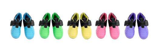 De sportenschoenen van kinderen Royalty-vrije Stock Fotografie
