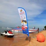 De sportfestival 2013 van het Pattayawater Stock Foto