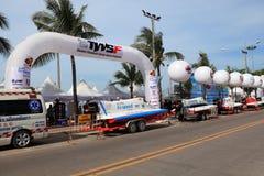 De sportfestival 2013 van het Pattayawater Stock Afbeeldingen