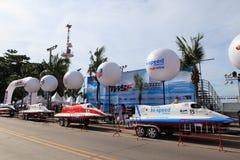 De sportfestival 2013 van het Pattayawater Royalty-vrije Stock Foto's