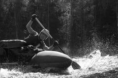 De sportman van het water stock foto