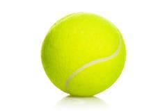 De sportmateriaal van tennisballen op wit Royalty-vrije Stock Afbeelding