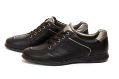 De sportschoenen van de vrouw Stock Foto