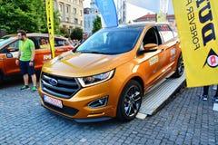 De Sportverblijven van Ford Edge 2016 bij de beginlijn Royalty-vrije Stock Fotografie