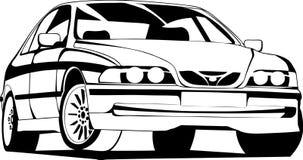 De sportwagen Stock Afbeelding