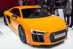 De sportwagen van Audi R8 Stock Afbeelding