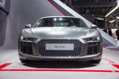 De sportwagen van Audi R8 V10 Royalty-vrije Stock Afbeelding
