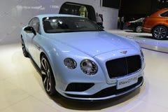De sportwagen van Bentley Continental New GTV8S Royalty-vrije Stock Afbeelding