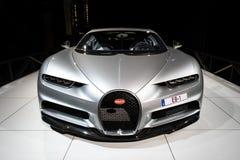 De sportwagen van Bugatti Chiron stock afbeeldingen