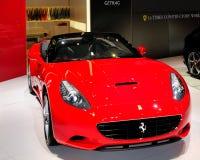 De sportwagen van Californië van Ferrari Royalty-vrije Stock Foto's