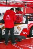 De sportwagen van Citroën bij de Stad van Moskou het Rennen Royalty-vrije Stock Afbeelding