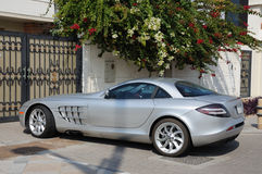 De sportwagen van de luxe stock afbeelding