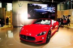 De Sportwagen van GranCabrio van Maserati Stock Fotografie