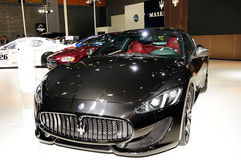 De Sportwagen van GranTurismo van Maserati (de Uitgave van de Sport) Stock Foto's