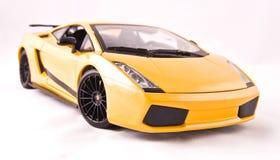 De sportwagen van het stuk speelgoed Royalty-vrije Stock Afbeeldingen