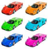 De Sportwagen van het stuk speelgoed royalty-vrije stock afbeelding