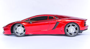 De sportwagen van Lamborghini stock foto's
