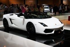 De sportwagen van Lamborghini Gallardo Spyder Stock Foto's