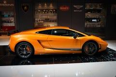 De sportwagen van Lamborghini Gallardo Superleggera Royalty-vrije Stock Fotografie